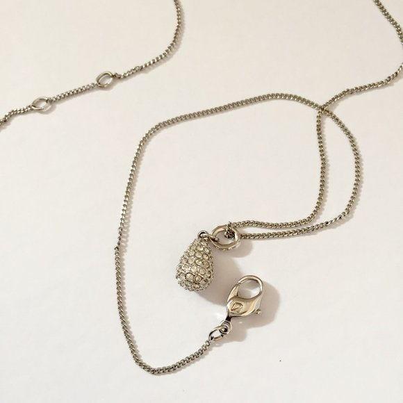 Swarovski Pear-Shaped Pendant Necklace